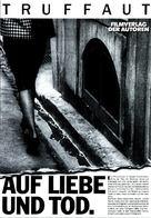 Vivement dimanche! - German Movie Poster (xs thumbnail)