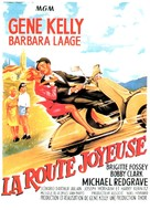 The Happy Road - French Movie Poster (xs thumbnail)