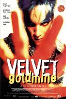 Velvet Goldmine - Spanish Movie Poster (xs thumbnail)