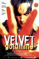 Velvet Goldmine - Spanish Movie Poster (xs thumbnail)