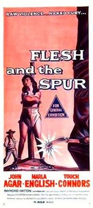 Flesh and the Spur - Australian Movie Poster (xs thumbnail)