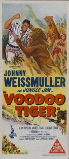 Voodoo Tiger - Australian Movie Poster (xs thumbnail)
