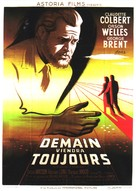 Tomorrow Is Forever - French Movie Poster (xs thumbnail)