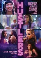 Hustlers - German Movie Poster (xs thumbnail)