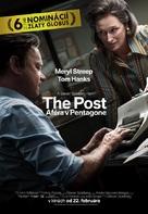 The Post - Slovak Movie Poster (xs thumbnail)