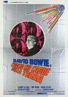 The Man Who Fell to Earth - Italian Movie Poster (xs thumbnail)