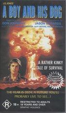 A Boy and His Dog - Australian VHS cover (xs thumbnail)