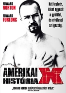American History X - Hungarian DVD movie cover (xs thumbnail)