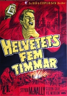 Hell's Five Hours - Swedish Movie Poster (xs thumbnail)