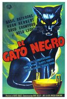 The Black Cat - Argentinian Movie Poster (xs thumbnail)