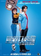 Nicky Larson et le Parfum de Cupidon - French Movie Poster (xs thumbnail)