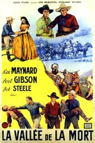 Death Valley Rangers - French Movie Poster (xs thumbnail)