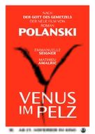 La Vénus à la fourrure - German Movie Poster (xs thumbnail)