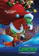 The Grinch - Swedish Movie Poster (xs thumbnail)