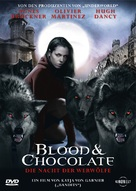 Blood and Chocolate - German DVD cover (xs thumbnail)