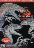 The Lost World: Jurassic Park - Australian DVD cover (xs thumbnail)