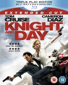 Knight and Day - British Blu-Ray movie cover (xs thumbnail)