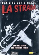 La strada - German DVD cover (xs thumbnail)