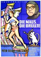 The Mouse That Roared - German Movie Poster (xs thumbnail)