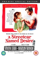A Streetcar Named Desire - British DVD movie cover (xs thumbnail)