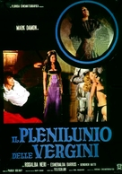 Il plenilunio delle vergini - Italian Movie Poster (xs thumbnail)