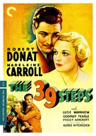 The 39 Steps - DVD movie cover (xs thumbnail)