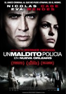 The Bad Lieutenant: Port of Call - New Orleans - Argentinian Movie Poster (xs thumbnail)