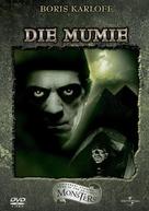 The Mummy - German DVD movie cover (xs thumbnail)
