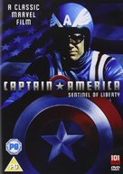 Captain America - British Movie Cover (xs thumbnail)