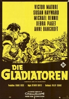 Demetrius and the Gladiators - German Movie Poster (xs thumbnail)