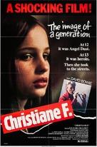 Christiane F. - Movie Poster (xs thumbnail)