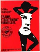 Ostre sledované vlaky - French Movie Poster (xs thumbnail)