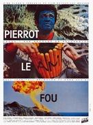 Pierrot le fou - French Movie Poster (xs thumbnail)