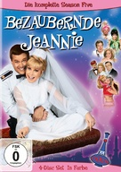 """""""I Dream of Jeannie"""" - German DVD movie cover (xs thumbnail)"""