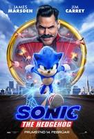 Sonic the Hedgehog - Icelandic Movie Poster (xs thumbnail)