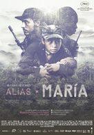 Alias María - Colombian Movie Poster (xs thumbnail)