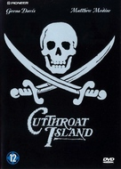 Cutthroat Island - Dutch DVD movie cover (xs thumbnail)