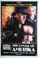 Once Upon a Time in America - Turkish Movie Poster (xs thumbnail)