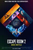 Escape Room: Tournament of Champions - Italian Movie Poster (xs thumbnail)