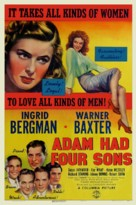 Adam Had Four Sons - Movie Poster (xs thumbnail)
