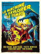 The Time Machine - French Movie Poster (xs thumbnail)