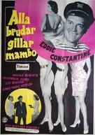 Ces dames préfèrent le mambo - Swedish Movie Poster (xs thumbnail)