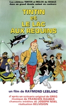 Tintin et le lac aux requins - French VHS cover (xs thumbnail)