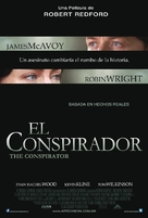The Conspirator - Mexican Movie Poster (xs thumbnail)