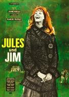 Jules Et Jim - German Movie Cover (xs thumbnail)