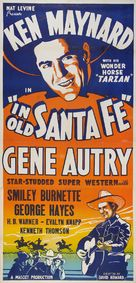 In Old Santa Fe - Re-release poster (xs thumbnail)