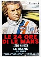 Le Mans - Italian Movie Poster (xs thumbnail)