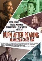Burn After Reading - Turkish Movie Poster (xs thumbnail)