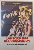 Hexen bis aufs Blut gequält - Spanish Movie Poster (xs thumbnail)