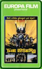 The Losers - Swedish VHS movie cover (xs thumbnail)